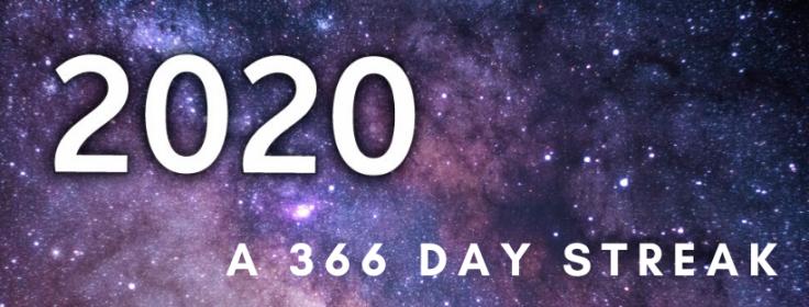 The 366 day streak Kerry Swan